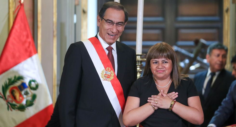 Zulema Tomás sucedió en el Minsa a Silvia Pesah en enero del 2019. (Foto: Andina)