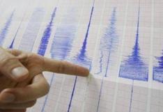 Ica: cuatro sismos de regular intensidad se registraron en Marcona en menos de una hora