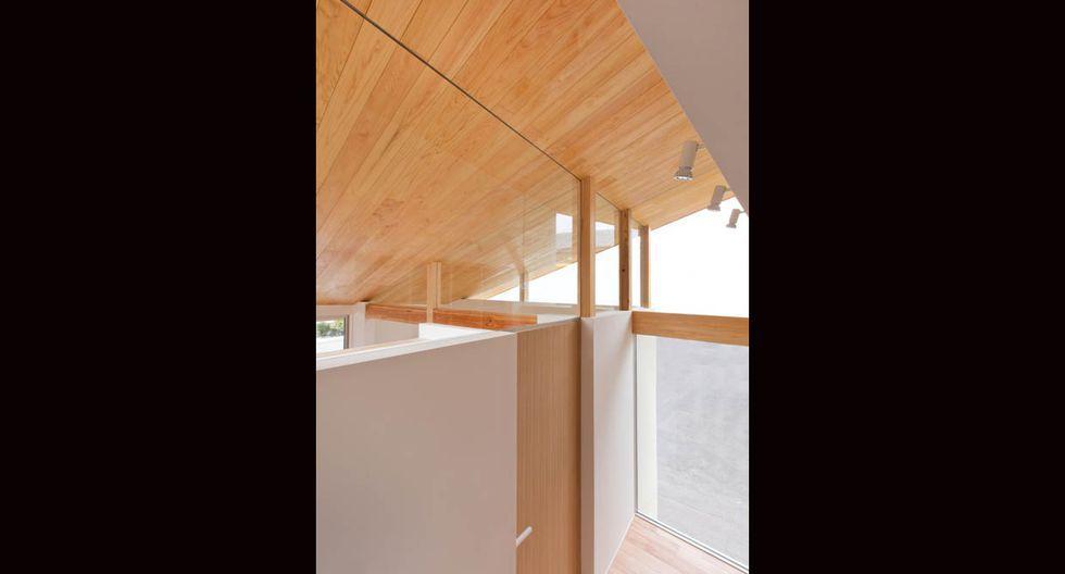 Así luce la casa por fuera. (Fuji-shokai, Masahiko Nishida / alts-design.com)