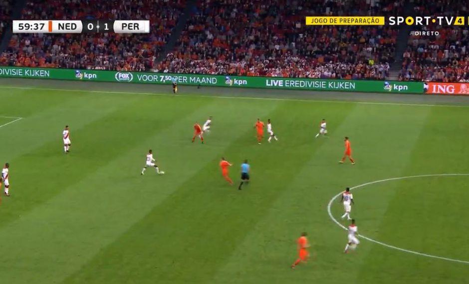 Perú vs. Holanda: el gol de Memphis Depay. (Video: Sport TV de Brasil)