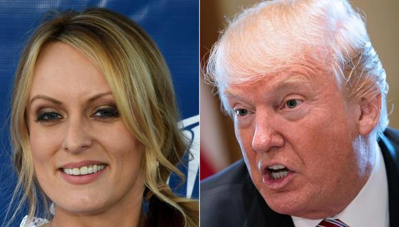 Donald Trump había dicho anteriormente que desconocía un pago de 130.000 dólares a Stormy Daniels días antes de la elección del 2016 a cambio de su silencio sobre una presunta relación sexual con él. (AFP).