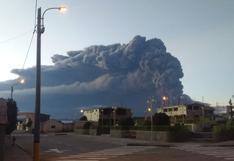 Erupción del volcán Ubinas: elevan alerta volcánica de amarilla a naranja