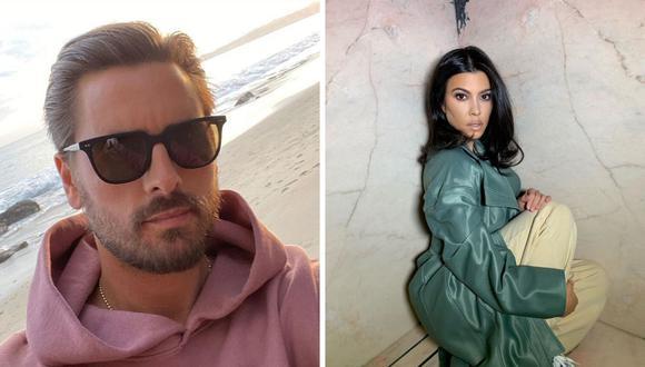 Scott Disick y Kourtney Kardashian estuvieron casados nueve años desde el 2006 al 2015. (@letthelordbewithyou / @kourtneykadash).