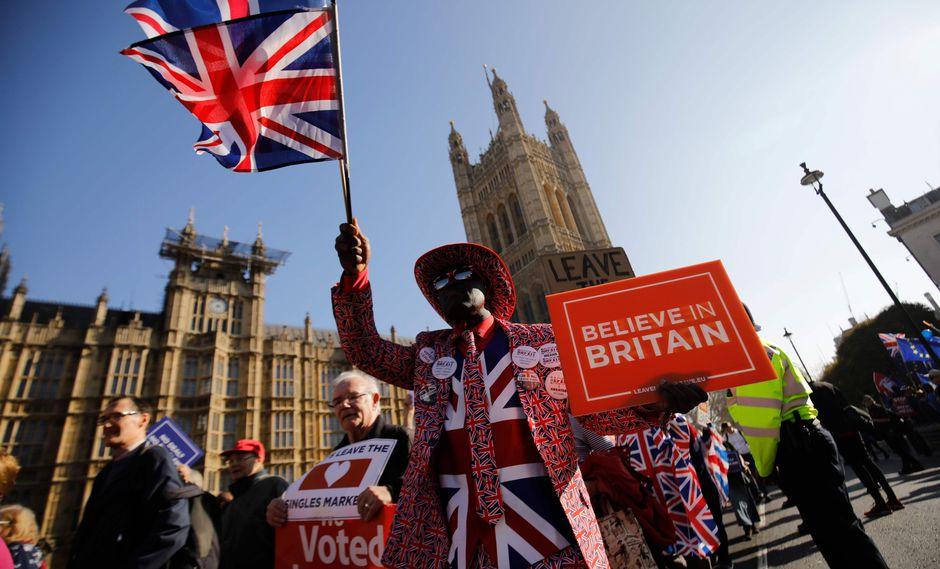 El 29 de marzo es la fecha límite del Brexit. (Foto: AFP)
