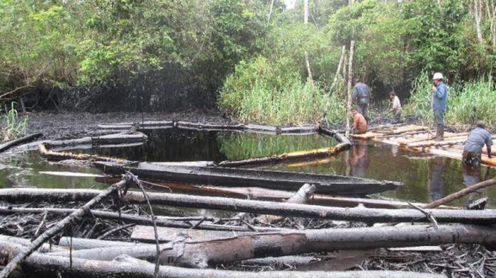 OEFA supervisa acciones de Petro-Perú ante derrame de petróleo  - 1