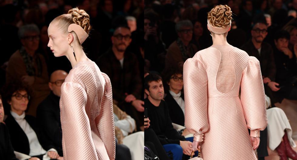 Fendi ha reinventado las diademas comunes en su colección para la temporada otoño - invierno 2020 durante la Semana de la Moda de Milán. En esta galería, descubre los detalles. (Fotos: AFP)