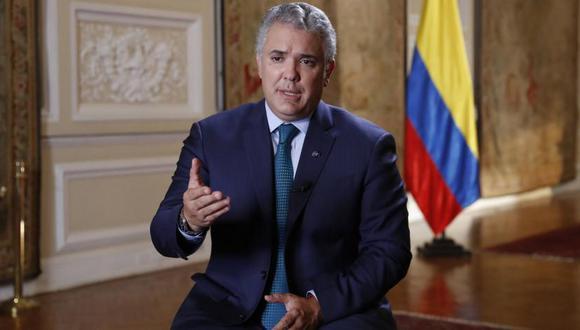 Iván Duque, presidente de Colombia. (Foto: El Tiempo)