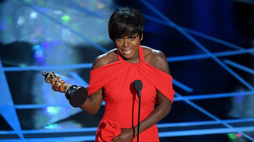 Viola Davis gana Oscar a Mejor actriz de reparto [VIDEO] - 2