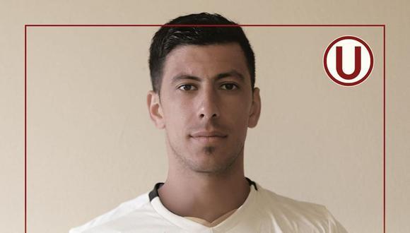 Universitario de Deportes confirma fichaje de Federico Alonso. (Foto: Facebook)