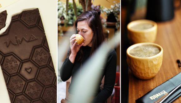 El Cacaotal es un proyecto comandado por la estadounidense Amanda Wildey (en foto), antropóloga y catadora de cacao y chocolate. La acompaña su pareja y socio, el chileno Felipe Aliaga, técnico agropecuario y catador de café. Fotos: El Cacaotal.