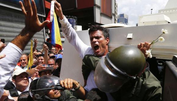 Venezuela: López denuncia a Maduro por muertes en protestas
