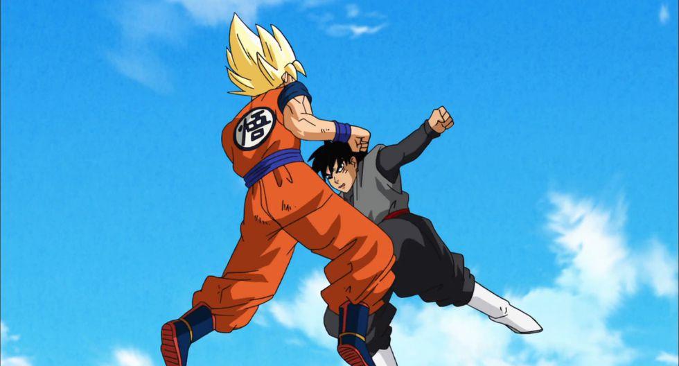 Aquí Gokú pelea contra su doble malvado, Black Gokú; el cual en esta imagen más parece Yamcha. (Foto: Toei Animation)
