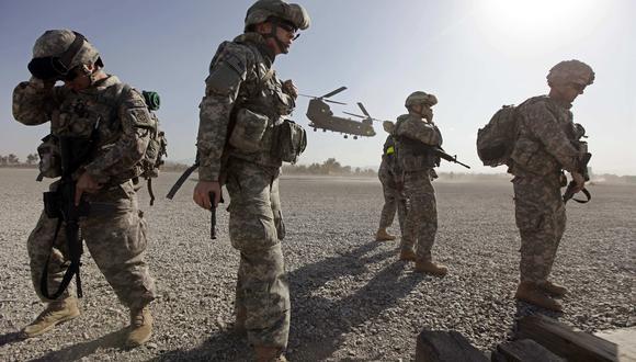 Imagen referencial. Tropas estadounidenses en Afganistán, en el 2009. REUTERS