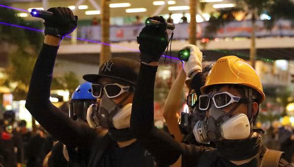 Las manifestaciones en Hong Kong comenzaron hace dos meses. Los ciudadanos exigen que se elimine un proyecto de ley de extradición a China. (AP).