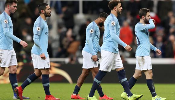 Manchester City perdió 2-1 ante Newcastle de visita por la Premier League. (Foto: Reuters)