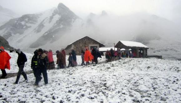 Senamhi pronostica heladas en la sierra sur