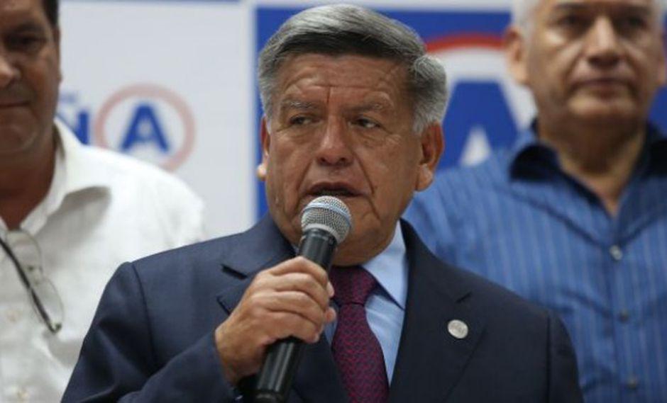 César Acuña fue citado para declarar este martes. Su abogado asegura que acudirá a testificar. (Foto: GEC)