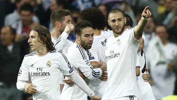 Una estadística que 'tranquiliza' al Madrid en la Champions