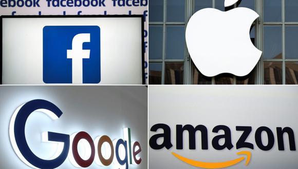 Google, Facebook, Apple y Amazon pertenecen al grupo de empresas gravadas por Francia. (Foto: AFP)