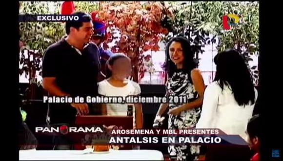 Martín Belaunde Lossio visitó Palacio de Gobierno en el 2011