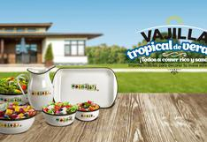 Vajilla Tropical de Verano, imprescindibles para decorar tu mesa este verano.