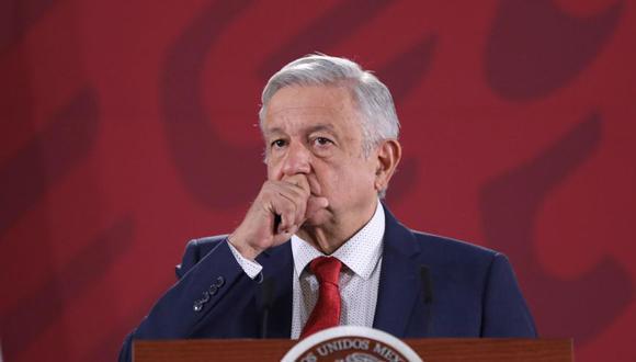 """El presidente Andrés Manuel López Obrador, más conocido como AMLO, insiste en que su gobierno heredó de los gobiernos anteriores el """"problema serio"""" de la inseguridad y la violencia y reitera su confianza en que la estrategia que aplica su gobierno pronto dará resultados. (Foto: EFE)"""