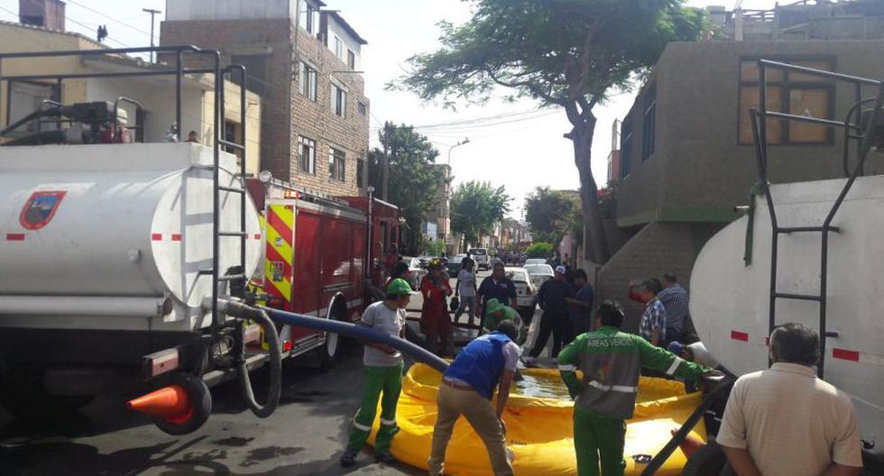 Barranco: incendio destruyó 20 habitaciones prefabricadas - 4