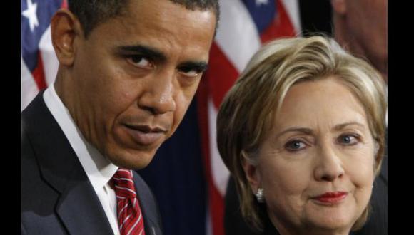 Obama no apoyará por ahora a Clinton como candidata demócrata