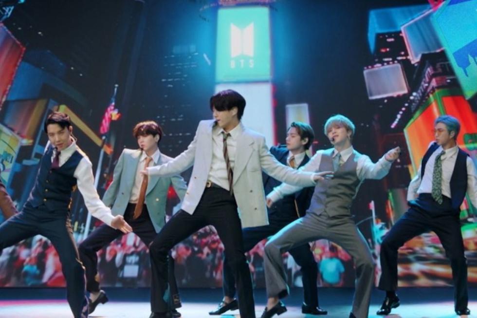 BTS se presentó por primera vez en los MTV Video Music Awards. (Foto: MTV/AFP)