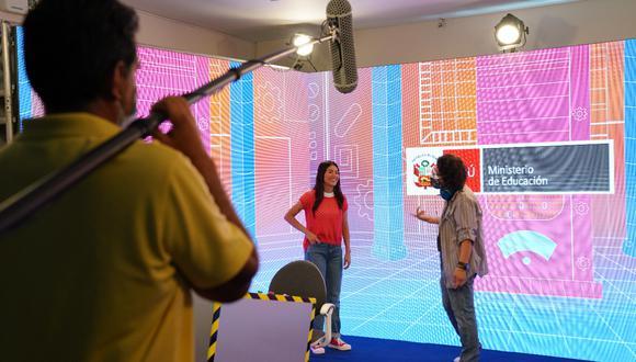 """""""Aprendo en Casa"""" empezará a transmitirse a través de televisión y radio a partir del lunes 19 de abril. (Foto: Minedu)"""
