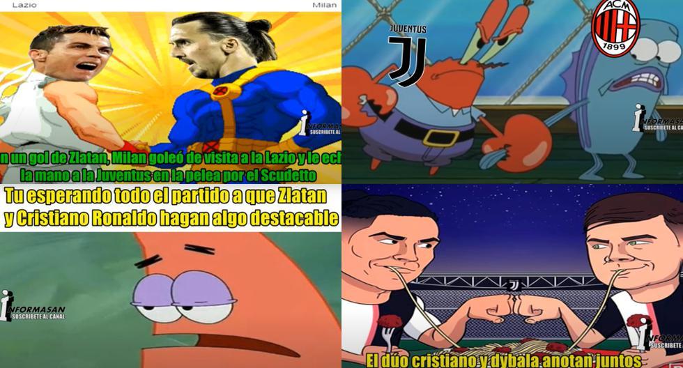 Memes en la previa del duelo entre Juventus y Milan en San Siro