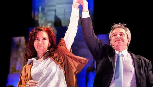Alberto Fernández y Cristina Fernández de Kirchner triunfaron en las elecciones primarias en Argentina. (Foto: AFP)