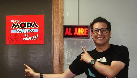 """El locutor de radio también fue separado del programa """"En Boca de Todos"""" por los comentarios denigrantes a su expareja. (Foto: Andres Cuya/ El Comercio)"""