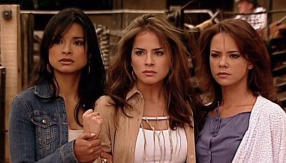 """Las hermanas Elizondo, protagonistas de """"Pasión de gavilanes"""", fueron muy queridas por el público (Foto: Caraccol Televisión)"""