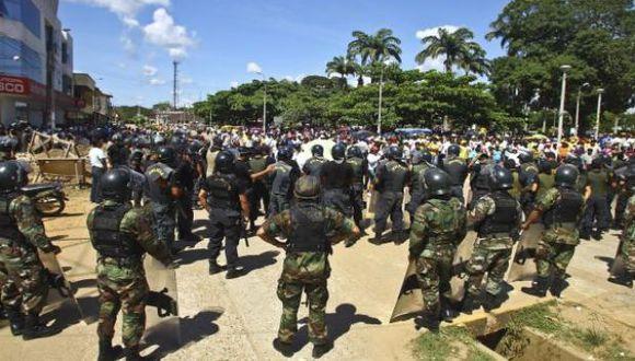 Ejecutivo autorizó por 30 días calendario la intervención de las Fuerzas Armadas para el mantenimiento del orden interno en el terminal de Mollendo.(Foto: GEC)