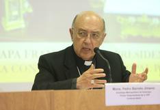 """Caso Sodalicio: cardenal Pedro Barreto se mostró a favor de """"disolver"""" la asociación religiosa"""