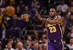 Lakers vapuleó 120-94 a Warriors con 23 puntos y 12 asistencias de LeBron James en la NBA
