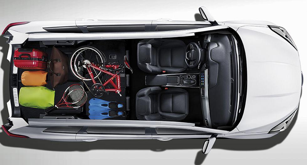 El Chery New Tiggo 8 llega al Perú en dos versiones full equipo: automática y mecánica. Su precio base es de US$ 21.690. (Fotos: Chery).