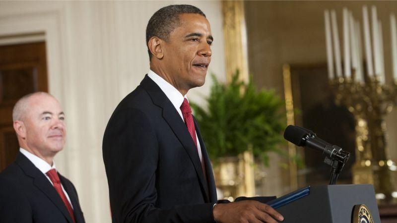 Mayorkas ocupó distintos cargos en el gobierno de Obama. (AFP).