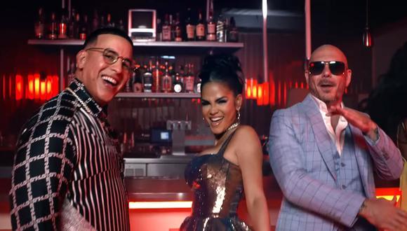 """Daddy Yankee, Natti Natasha y Pitbull lanzarán una nueva versión de """"No me trates de engañar"""" del 'General'. (Foto: @daddyyankee)"""