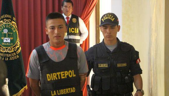 Flores Ruiz fue detenido al interior del cuartel EP El Tablazo, ubicado en el distrito de Huanchaco