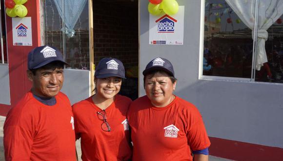 El Ministerio de Vivienda, Construcción y Saneamiento otorgará este año 57,651 Bonos Familiares Habitacionales.(Foto: Agencia Andina)