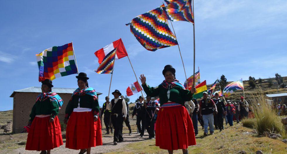 Esta actividad fue promovida por el Ministerio de Cultura, en coordinación con autoridades comunales de la zona (Foto: Carlos Fernández)