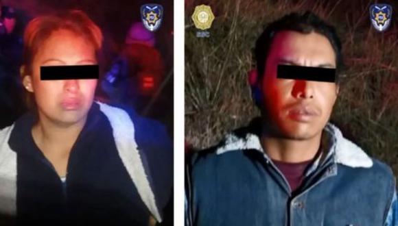 Mario Alberto y Gladis Giovana están encarcelados por el asesinato de la niña Fátima.