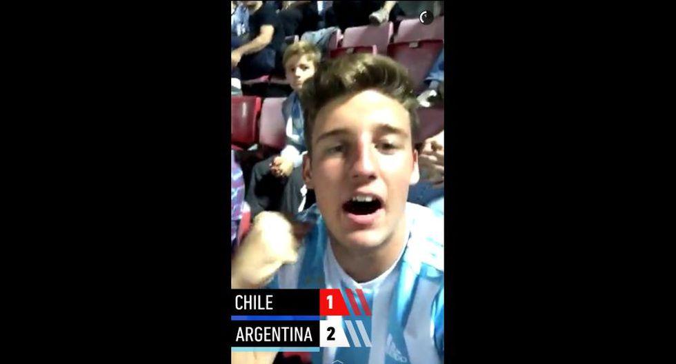 Snapchat vibró al ritmo del partido Chile vs. Argentina [FOTOS] - 10