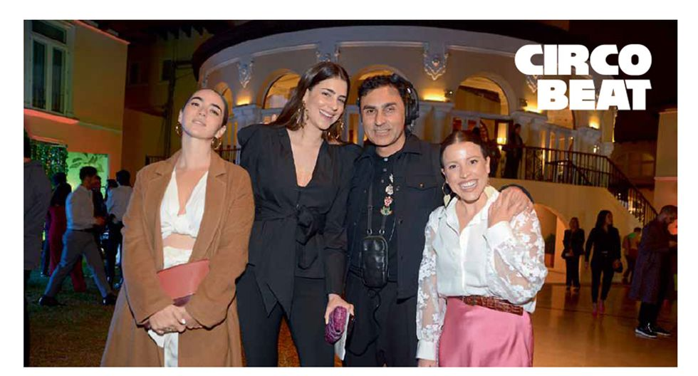 VIP. Viviana de Ferrari, Camila Pareja, Fernando Torrejón y Sandra Sevil.