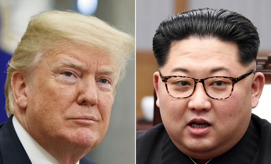 El primer encuentro entre Donald Trump y Kim Jong-un se dió en junio del 2019 en Singapur. (AP)