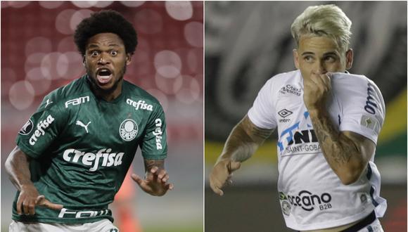Palmeiras y Santos definen al campeón de la Copa Libertadores este sábado en la final | Fotos: Agencias