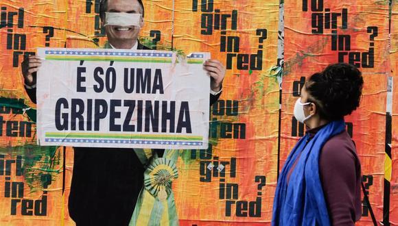 """La """"gripecita"""" a la que se refiere Jair Bolsonaro ha dejado ya más de 595.000 fallecidos en Brasil. (Foto: FÁBIO VIEIRA/FOTORUA / ZUMA PRESS / CONTACTOPHOTO vía Europa Press)"""