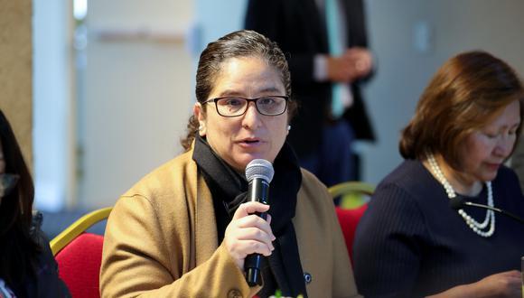 La ministra del Ambiente, Lucía Ruiz, participa en la Cumbre sobre Acción Climática 2019, que se desarrolla en la ciudad de Nueva York.